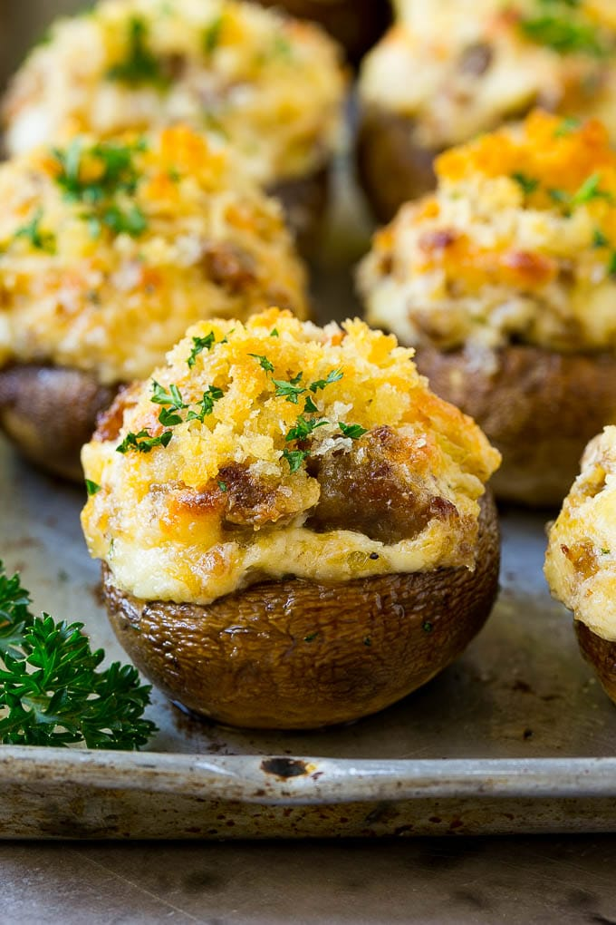 sausage-stuffed-mushrooms-4